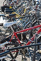 bicycle parking, Bologna, Emilia Romagna, Italy