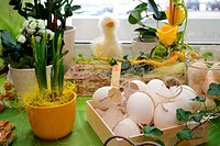 Florist-decoration for Easter