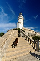 Lighthouse, Cap de Formentor, Formentor, Mallorca, Balearic Islands, Spain, Europe