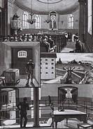 Langholmen, the Central Prison in Stockholm 1889.