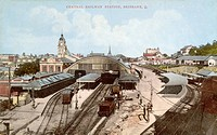 Brisbane Railway Station, Brisbane, Queensland, Australia
