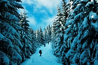 Winter hiking
