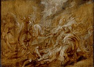 The Conversion of St Paul. Sir Peter Paul Rubens