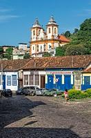 Sao Francisco de Assis Church, Sabara, Belo Horizonte, Minas Gerais, Brazil.