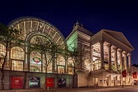 The Royal Opera House, Covent Garden, London, England.