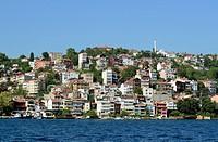 Turkey, Istanbul, View of Sariyer