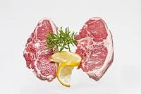 Crude lamb meat