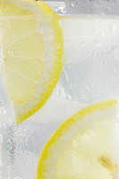 Close_up of lemonade