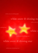 Yellow stars on red background with Christmas text