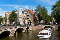 Netherlands. Amsterdam. Channel of Amsterdam.