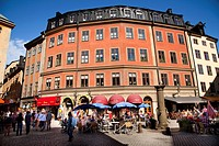 Old Town (Järntorget)   Stockholm Sweden.