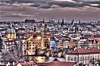 View of Prague Czech Republic