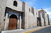 Santa Catalina of Siena Monastery 1579.Arequipa. Peru. UNESCO World Heritage Site.