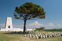 Lone Pine cemetery on the Gallipoli Peninsula, Turkey
