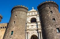Maschio Angioino Castle, Naples, Italy.