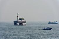 Ships at Tokyo Bay