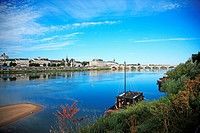 France, Loire Valley, Saumur, River Loire, UNESCO World Heritage