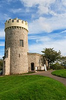 Clifton Observatory, Camera Obscura and Cave, Bristol, Gloucestershire, England, UK.