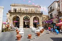 Piazza della Repubblica, Pizzo or Pizzo Calabro, Vibo Valentia, Calabria, Southern Italy, Italy.