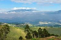 Pichincha volcano, Pichincha Province, Ecuador, South America