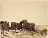 The ruins of a building. Image taken from Photographic Views taken in Egypt (Nubia), by James Douglas, M.D, and James Douglas, LL.D, during the winter...