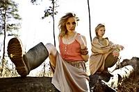 Beautiful Girl Fashion Portrait, Kampina, Boxtel, Noord-Brabant, The Netherlands, Europe.
