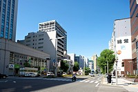 Cityscape of Nagoya city, Aichi Prefecture, Japan