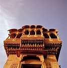 Salim Singh Ki Haveli in Jaisalmer in Rajasthan in India.