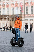 Segway, Prague, Czech Republic.