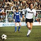 football, Bundesliga, 1978/1979, Stadium an der Castroper Strasse, VfL Bochum versus Eintracht Frankfurt 0:0, scene of the match, Ruediger Wenzel (Ein...