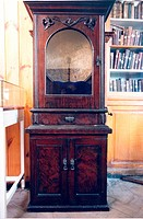 An 1897 juke box at Beamish Museum in July 1995.