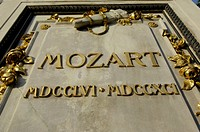statue of Wolfgang Amadeus Mozart, Austria, Vienna, 1. district, Vienna - Ringstrasse
