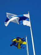 flags of the nordic countries, Sweden, Finland, Sweden