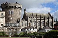 Ireland, Dublin, Castle, Record Tower,.