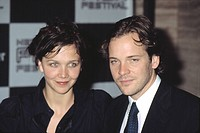 Maggie Gyllenhaal and Peter Sarsgaard at opening of NEW YORK FILM FESTIVAL, NY 9/27/2002, by CJ Contino