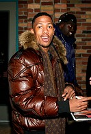 Nick Cannon (wearing Louis Vuitton scarf) out and about for THU - Sundance Film Festival Candids, Park City, Park City, UT, January 15, 2009. Photo by...