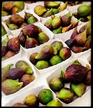 Figs for sale at market in Nice, France.