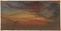 All frames other than 1888-156/1;other than 1888-156/2;other than 1888-156/12;and other than 1888-156/24;containing sky sketches by by William Ascroft...