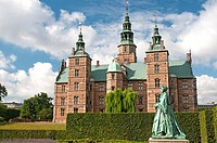 Rosenborg Castle, Copenhagen, is the repository of the Danish crown jewels and stands within the King´s Garden.