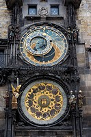 The Astronomical Clock in Prague (Czech Staroměstský orloj) is a medieval astronomical clock located in Prague, the capital of the Czech Republic, s...
