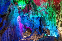 Dragon fountain cave, Iwate, Tohoku, Japan