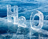 Chemical formula of water H2O