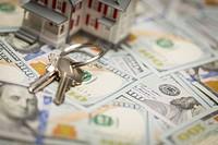 House and Keys on Newly Designed One Hundred Dollar Bills