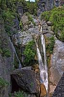 Ucelluline Cascade, Castagnicca, Northern Corsica