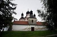 The pilgrimage Baroque Church of the Most Holy Trinity near Trhove Sviny, Czech Republic, September 11, 2014. (CTK Photo/Libor Sojka)
