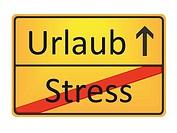Urlaub - Stress