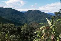 Landscape near Rio de Janeiro State, Brazil.