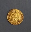 Gold ducat of Federico II Gonzaga, 1519-1530, reverse. Duchy of Mantua, 16th century.  Padova, Musei Civici Eremitani, Palazzo Zuckermann, Museo Botta...