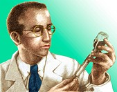 Jonas Edward Salk. The American microbiologist Jonas Edward Salk (b.1914). In the 40s, other microbiologists such as the American Enders had developed...