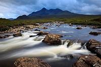 Cuillin Hills, Isle of Skye, Scotland.